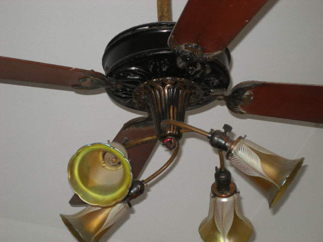 photo of a century antique ceiling fan - Vintage Ceiling Fans