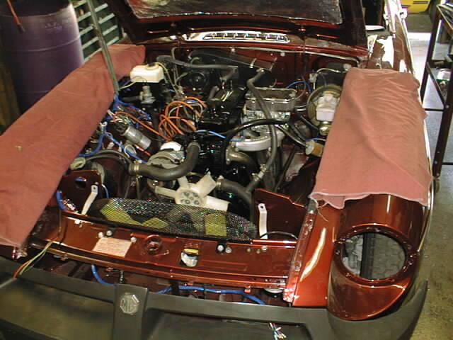 MG, Triumph, Jaguar, Austin Healey repairs and restoration