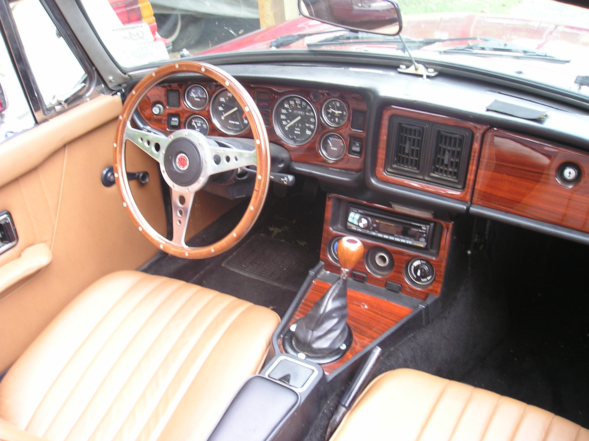 British Car Accessories like KONI shocks, ANSA exhaust,