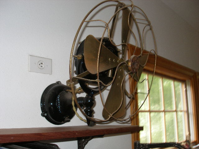 Antique electric ceiling fans desk fans and wall fans aloadofball Gallery