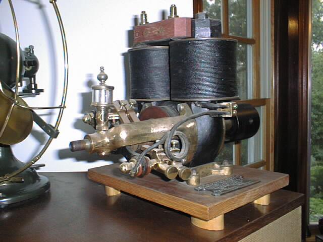 Antique Air Castle Fan Edison C Motor