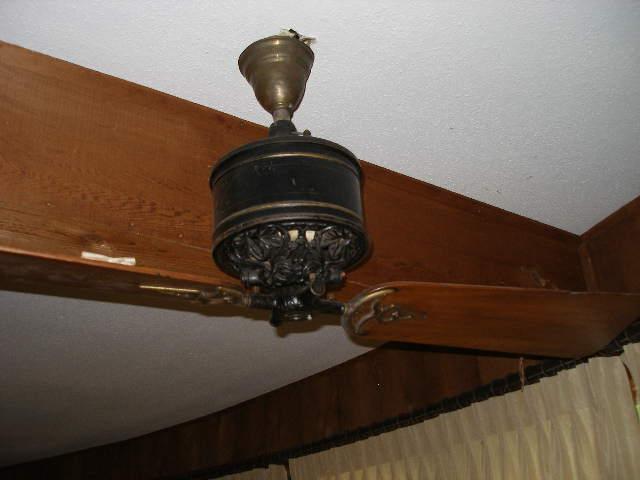 Antique Electric Ceiling Fans Desk